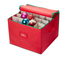 Christmas Ornament Storage - Open