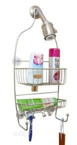 Stainless Steel Shower Caddy - Full