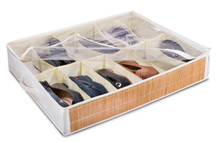 "Under the Bed Shoe Organizer - 12 Pockets - 26"" x 21"""
