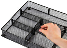 Metal Tray Drawer Organizer - Adjustable