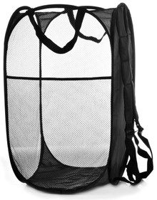 Backpack Mesh Popup Laundry Hamper
