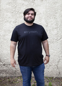 Strymon t-shirt (black on black)