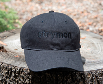 Strymon hat (black on black)