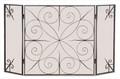 Elements 3-Panel Screen - Brushed Bronze