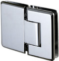 180 degree Glass to Glass Regular Weight Hinge - Bev - bn