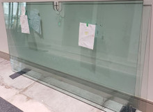 10MM TEMPERED AND POLISHED  GLASS ALL-IN RATE PER SQUARE FOOT