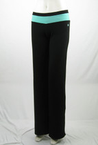 Two Color Waistband Relaxed Fit Pant
