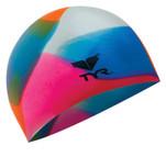 TYR Kaleidoscope Silicone Swim Cap