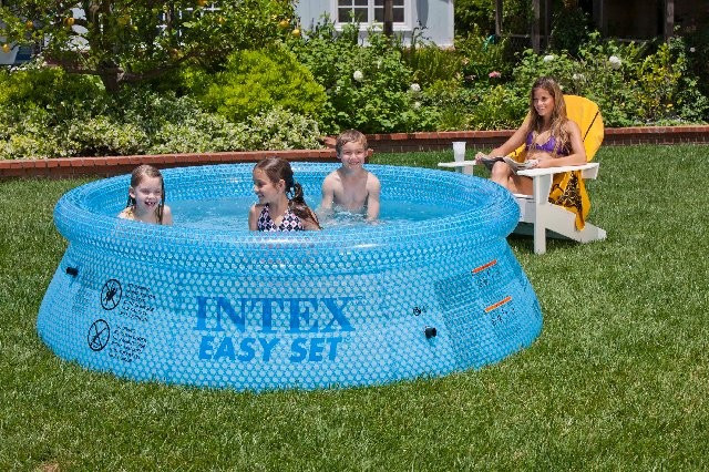 Intex 8 ft x 30 in Clearview Easy Set Pool
