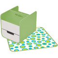 B.BOX 614 diaper caddy retro chic