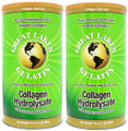 Great Lakes Gelatin - Collagen Hydrolysate Kosher - Unflavored Protein - 16 oz, 2Packs