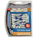 Pride Professional Tee System Evolution Plastic Golf Tees (Pack of 50), 40 Count 3-1/4-Inch/2-3/4-Inch + 10 Count 1-1/2-Inch