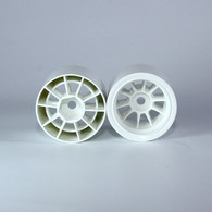 F1 Foam Rear  Wheels (pr.) White
