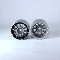 F1 Foam Rear  Wheels (pr.) Gunmetal