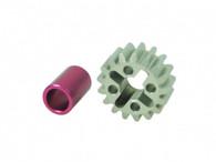 Aluminum Gear 08 pitch17T For 3Racing Sakura FF/FGX
