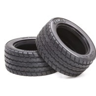 RC M-CHASSIS 60D RADIAL TIRES (1Pr)