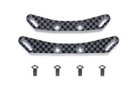 RC TA08 CARBON DAMPER STAYS Front/Rear
