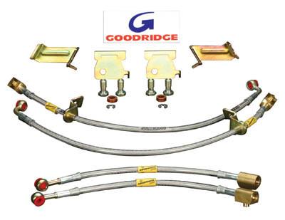 Goodridge G-Stop SS Brake Line Kit for 1992-1993 Mercedes Benz 500E