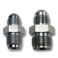 POWER STEERING BOX FITTING SET: -6 AN TO 5/8-18 Inverted and -6 AN Male to 11/16-18 Inverted
