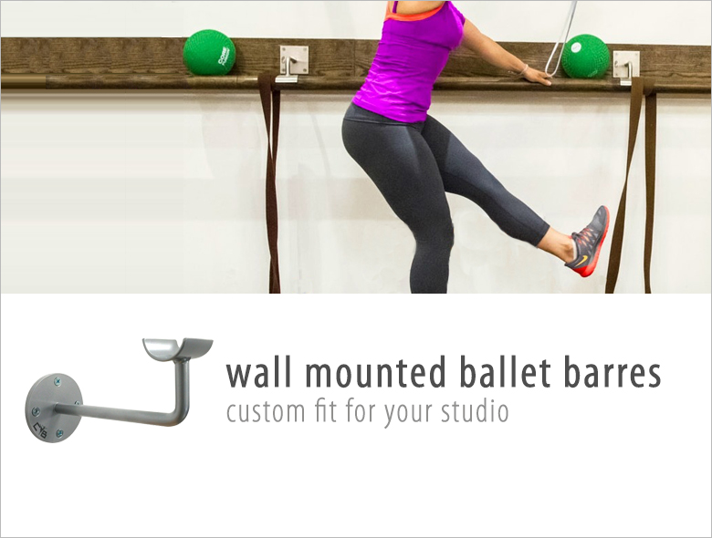 Shop Wall Mounted Ballet Barre, shop ballet bar, ballet barre sale, ballet barre brackets, cb barre brackets