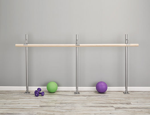 Shop Ballet Barres Brackets - Ballet Barre for home - Floor Mounted Fitness Barre Brackets