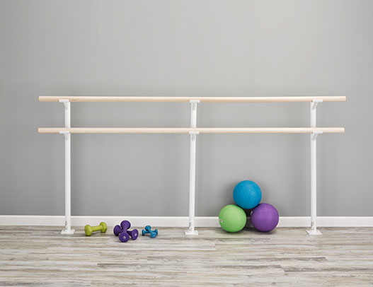 Buy Ballet Barres - Frappe Double Floor Mounted Ballet Barre