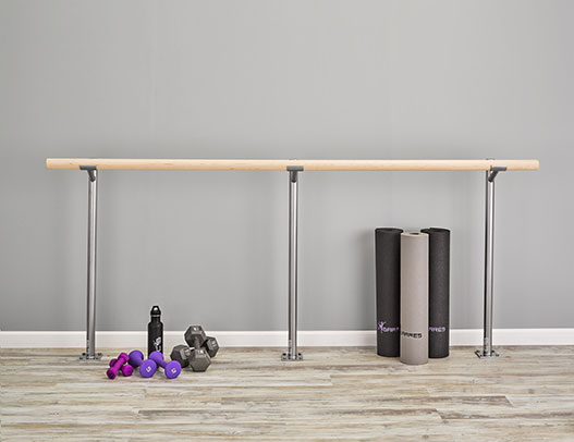 Custom Barres Floor Mounted Ballet Barre - Buy Ballet Barres