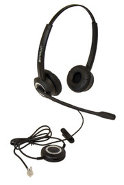 ZūM ZUMRJ9B™ Headset for Desktop Phones (Binaural)
