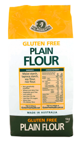 Roberts gluten Free plain flour 1 kg