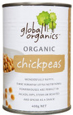 Global Organics Chick Peas 400gm