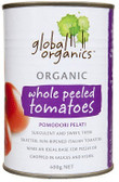 Global Organics Peeled Tomatoes 400g