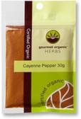 Gourmet Organic Cayenne Pepper 30g Sachet x 1