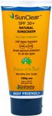 Grahams SunClear Sunscreen 30+ W/Resistant 150g