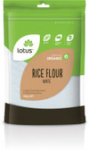 Lotus Organic Flour White Rice 500g