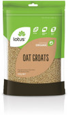 Lotus Organic Oat Groats 500gm