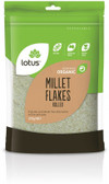 Lotus Organic Rolled Millet 375gm