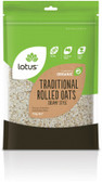 Lotus Traditional Rolled Oats Organic 750g