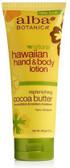 Alba Hawaiian Cocoa Butter Hand & Body Lotion 200m