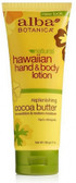 Alba Hawaiian Cocoa Butter Hand & Body Lotion 200m