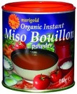 Marigold Miso Bouillon Powder - Organic 140gm