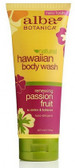 Alba Hawaiian Passion Fruit Body Wash 200ml