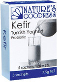Natures Goodness Kefir Turkish Probiotic 5x7.5gm