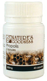 Natures Goodness Propolis Capsules 500mg 40s