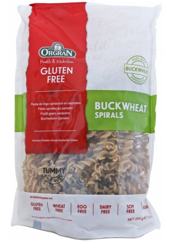 Orgran Gluten Free Buckwheat Spirals