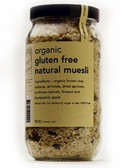 Real Good Foods Org GF Natural Muesli Refill 475g