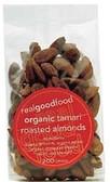 Real Good Foods Organic Tamari Roasted Almonds 200g