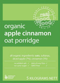 Real Good Foods Organic Oat Porridge Bulk 5kg