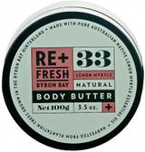 Refreshed Lemon Myrtle Body Butter 100gm