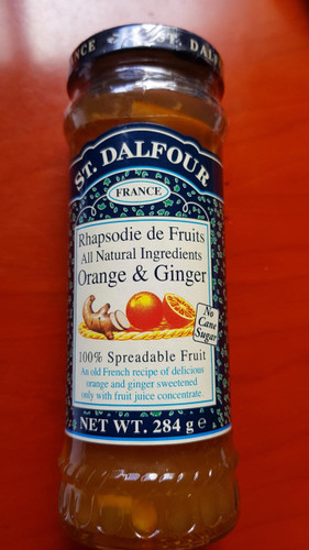 St Dalfour Orange and Ginger Spread