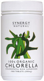 Synergy Chlorella 500mg x 200tabs Organic
